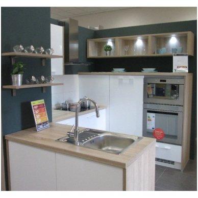 Virtuvinis maišytuvas Optima su ištraukiamu dušu 3