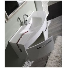 Vonios spintelė ERRA JULIE su praustuvu 120x50cm
