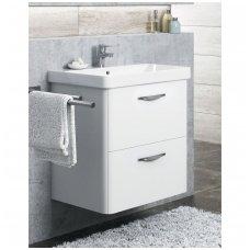 Vonios spintelė su praustuvu LUXURY 60x46cm