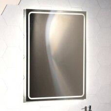 Vonios veidrodis su Led apšvietimu Sapho Gemini II