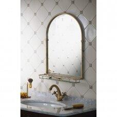 Vonios veidrodis TIGA bronza spalvos