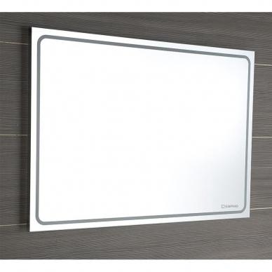 Vonios veidrodis Gemini LED 160x55cm 5