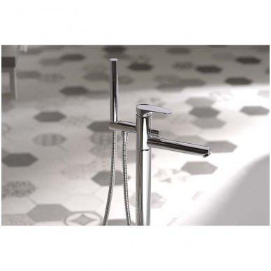 Vonios maišytuvas iš grindų Sapho Corneli CE21 3