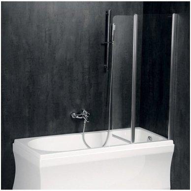 Vonios sienelė Polysan Paloma 120cm pločio 2