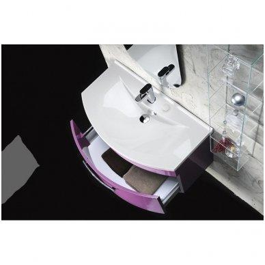 Vonios spintelė Erra Julie su praustuvu 90x50cm 4