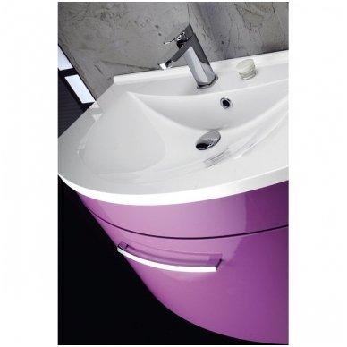 Vonios spintelė Erra Julie su praustuvu 90x50cm 5