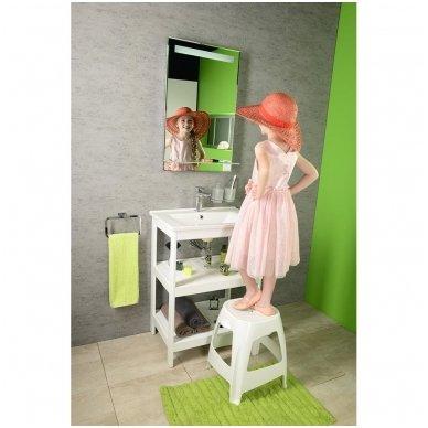 Vonios spintelė Etide su praustuvu 65cm 2