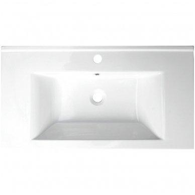 Vonios spintelė Etide su praustuvu 85cm 10