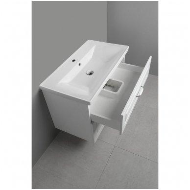 Vonios spintelė Favolo su praustuvu 80cm 12