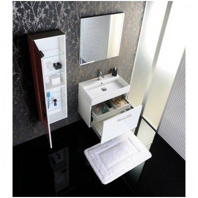 Vonios spintelė su praustuvu NATY 50cm 2