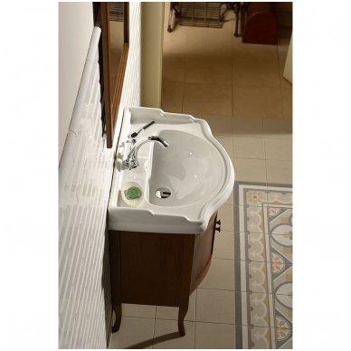 Vonios spintelė Retro 735140 su Kerasan Retro praustuvu 69cm 5
