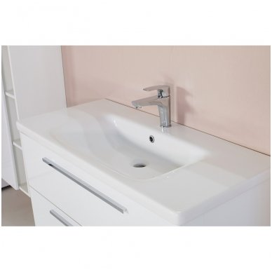 Vonios spintelė SOFT ONIX su praustuvu 3