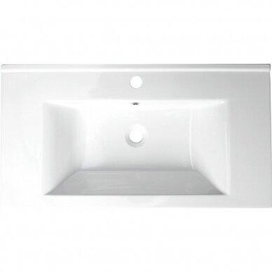 Vonios spintelė su praustuvu Aqualine Vega 8