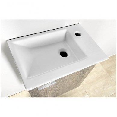 Vonios spintelė su praustuvu Aqualine ZOJA 3