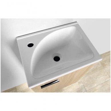 Vonios spintelė su praustuvu Aqualine ZOJA 4