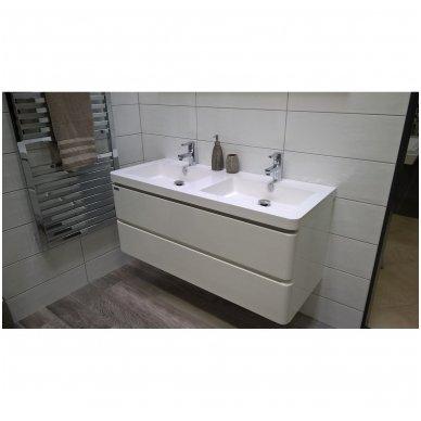 Vonios spintelė su praustuvu PAVIA 120cm 3