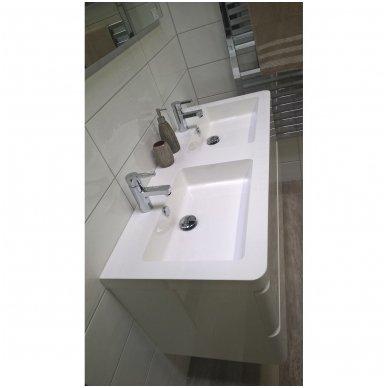 Vonios spintelė su praustuvu PAVIA 120cm 4