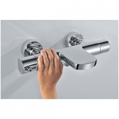 Vonios termostatinis maišytuvas  Sapho Kimura KU292 5