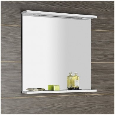 Vonios veidrodis Aqualine Korin su Led apšvietimu 3