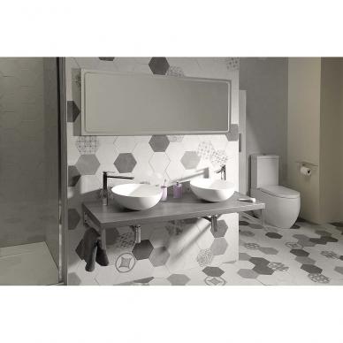 Vonios veidrodis Gemini LED 160x55cm 3
