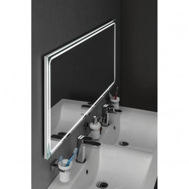 Vonios veidrodis Gemini LED 160x55cm 2