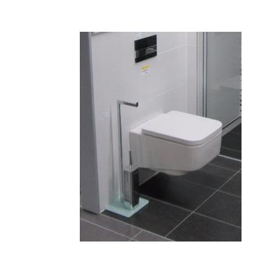 WC Stovas su unitazo šepečiu ir tualetinio popieriaus laikikliu 2