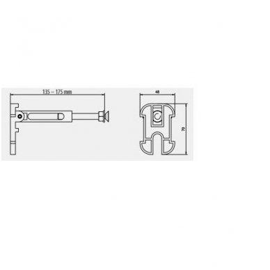Komplektas WERIT potinkinis rėmas su mygtuku + BRILLA Rimless pakabinamas wc su lėtaeigiu dangčiu 3